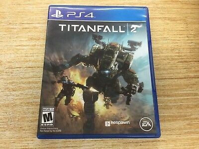 Titanfall 2 (Sony PlayStation 4, 2016) PS4 WORKS PERFECT SHIPS FAST