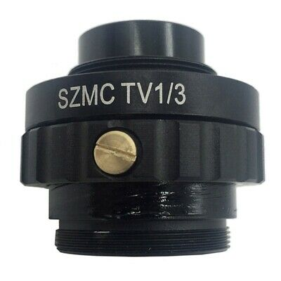 0.3X C Mount Adapter Reduce Lens for Trinocular Stereo Microscope 1/3 CTV CCD