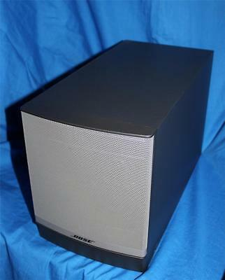 Bose Companion 3 Series II Multimedia Computer Speaker System Subwoofer -READ