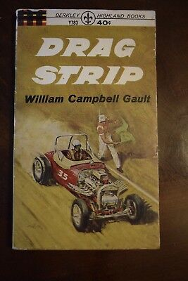 Drag Strip (Paperback) by William Campbell Gault VINTAGE 1970 Action Auto Racing