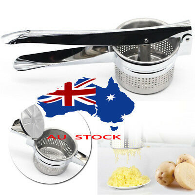 Stainless Kitchen Potato Ricer Masher Fruit Vegetable Press Maker Juicer Home