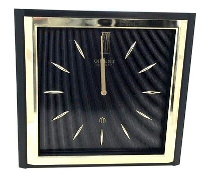 Vtg Original Rare ORIENT Seiko MIYOTA Citizen Quartz Wall Clock Made in Japan