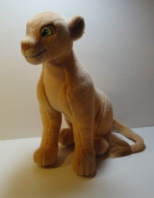 """15"""" Adult NALA Plush Toy From Disney's The Lion King 1994 By Applause Excellent"""