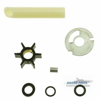 Water Pump Impeller Kit Mercury 4 4.5 7.5 9.8 75 110 .456 Driveshaft 89981T1