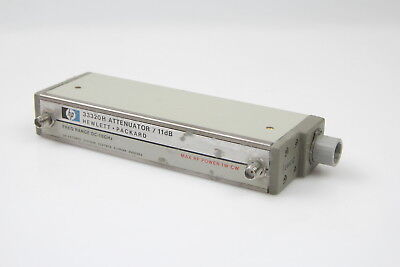 HP Agilent 33320H Programmable Step Attenuator DC - 18 GHz 11 dB 24VDC #1