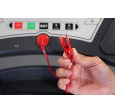 NEW HOT Running Machine Safety Key Treadmil Magnetic Security Switch Lock Fitnes