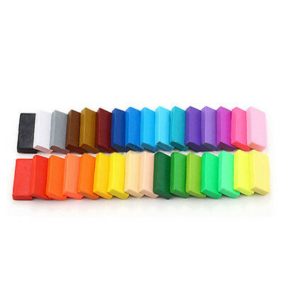 Oven Bake Polymer Clay Block Modelling Moulding Sculpey Toys New 32 Color  DJ8