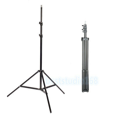 Professional 2M Photo Studio Adjustable Soft Box Continuous Tripod Light Stand