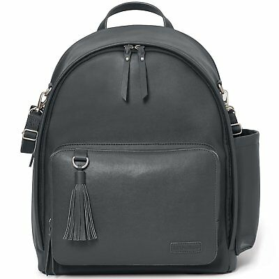 Skip Hop Greenwich Simply Chic Diaper Nappie Backpack wipe-clean vegan leather