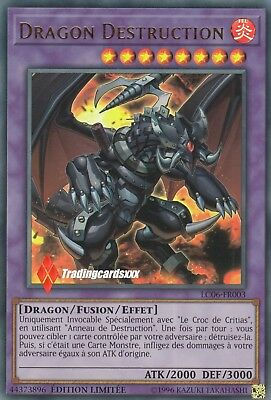 ♦Yu-Gi-Oh!♦ Dragon Destruction (Le Croc de Critias) : LC06-FR003 -VF/Ultra Rare-