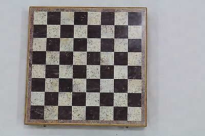 Stone Chess Set,Pieces Board Decorative,Indoor Games Natural Stone Gift 12'X12'