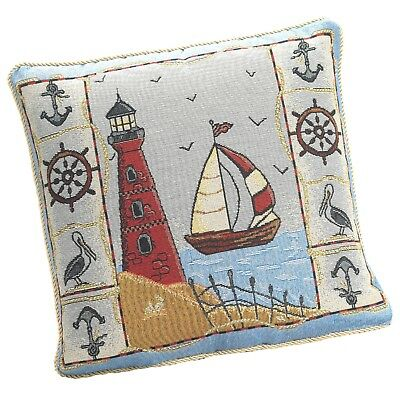"Birthday Gift Lighthouse Boat Seaside  Nautical 18""cushion Cover £4.95 Each"