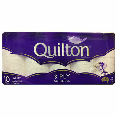 NEW Quilton Toilet Tissue 10 Pack