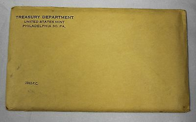 1962 U.S. Proof Set Original Sealed Envelope  ENN Coins