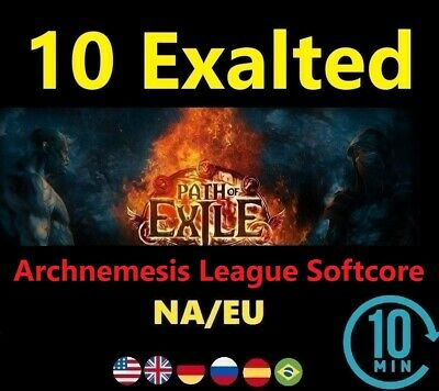 10 x Exalted Orb - Delve League ( Path of Exile EU/NA - POE Softcore ) Instant