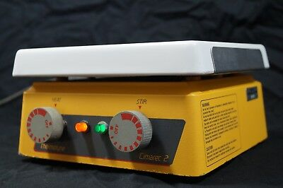 Thermolyne Cimarec 2 Stir Plate with Hot Plate Function - 100% tested! Clean!