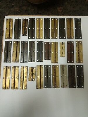 30 antique and vintage clock hinges