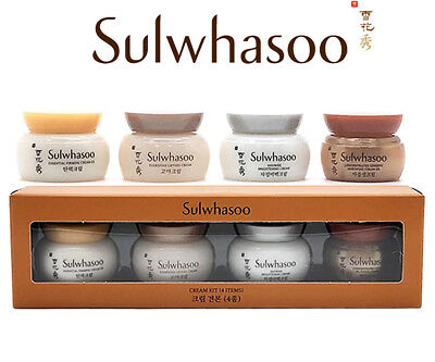 [SULWHASOO] Ginseng Renewal Anti-Aging Firming Cream Trial Kit 4 Items x 5ml NEW