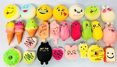 Jumbo Slow Rising Squishies Scented Squishy Squeeze Toy Stress Reliever gift UK