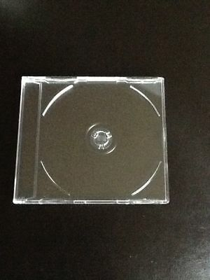 20 leere Jewel Case klar, transparent, 20 CD od. DVD Hüllen