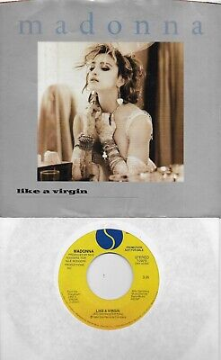MADONNA  Like A Virgin  rare promo 45 with PicSleeve