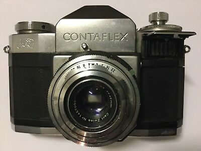 Zeiss-Ikon CONTAFLEX BETA - Rare Old German Vintage Camera -1:2.8 F=45mm Lens