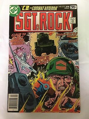 Our Army At War Sgt. Rock #315 Apr 1978 Variant W/ Survey Very Rare Kubert Vf