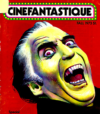 CINEFANTASTIQUE Magazines on DVD - Sci Fi Horror Fantasy Movie magazines on DVD