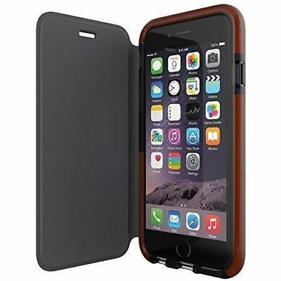 """Genuine Tech21 Classic Smokey Cover Flip Wallet Book Case Iphone 6S 6 7 8 4.7"""""""