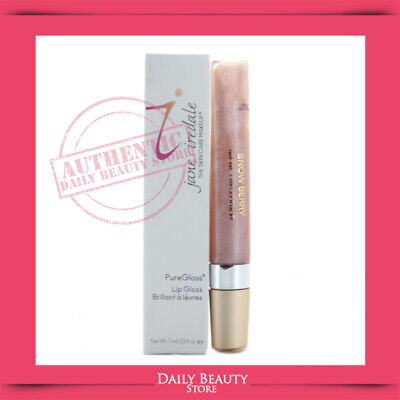 Jane Iredale PureGloss Lip Gloss 7ml 0.23oz Snow Berry NEW FAST SHIP