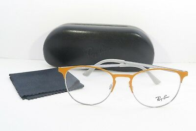 bbd70e030d NEW RAY-BAN RB 6375 2949 Orange Eyeglasses Authentic Frame Rx Rb6375 ...