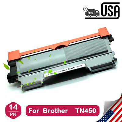 14* New Toner for BR-TN450 DCP-7060D DCP-7065DN HL-2250DN HL-2280DW MFC-7360N