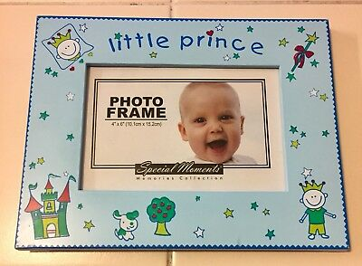 Little Prince Picture Frame special moments baby boy photo infant toddler 4 X 6