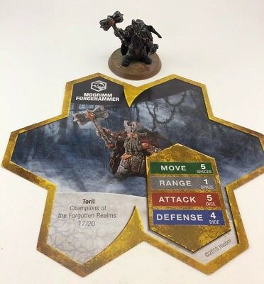 Heroscape Mogrimm Forgehammer Champions Of The Forgotten Realm