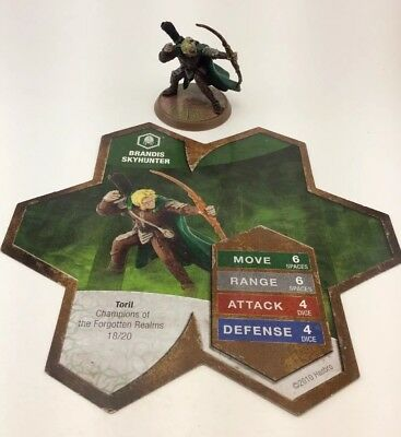 Heroscape Brandis Skyhunter Champions Of The Forgotten Realm