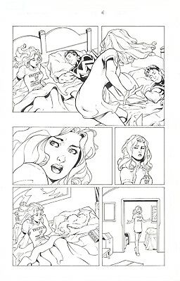 Ms. Marvel Dreams of Being in Bed with Wonderman by Lopresti and Sibal