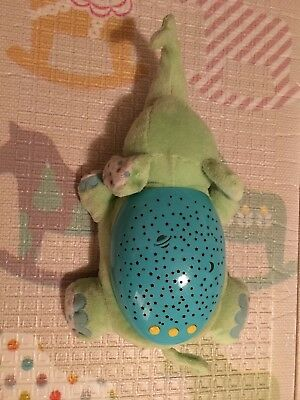 Summer Infant Slumber Buddies Soother Green Elephant Plush Musical Sounds Toy