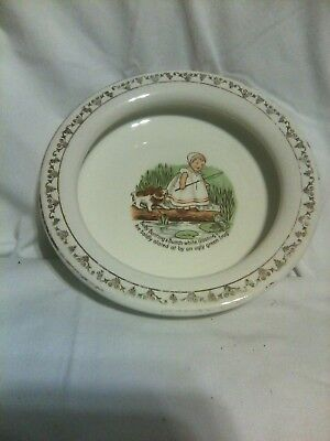 Antique Porcelain Baby Feeding Dish Baby Baby Bunting
