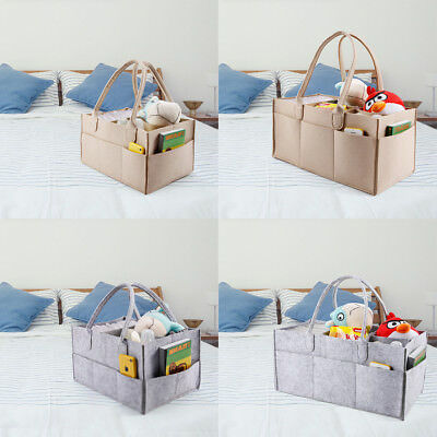 Travel Outdoor Portable Baby Diaper Nappy Storage Insert Organizer Bag Tote