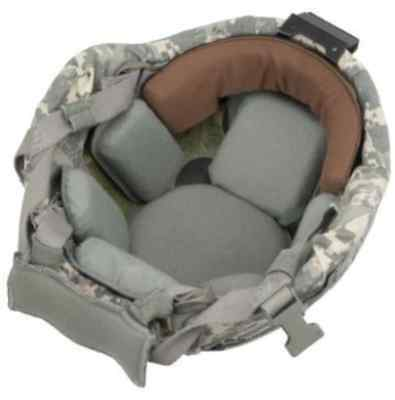 Xtreme Comfort ACH Browband Pad. Advance Your Combat Helmet. GREY.