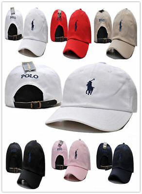 7611a0d8 New Polo Cap with Fine Embroidery Small Pony Logo Hat Baseball 100% Cotton  Caps