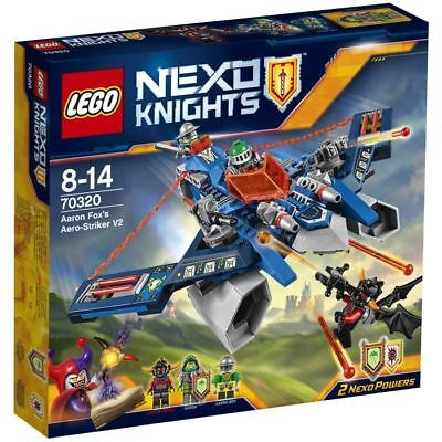 LEGO® Nexo Knights 70320 L'Aero Striker V2 d'Aaron Fox