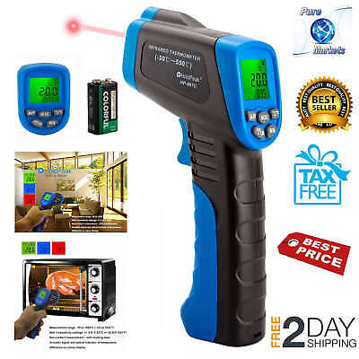 New Edition Non-Contact Digital Laser Infrared Thermometer Temperature Gun