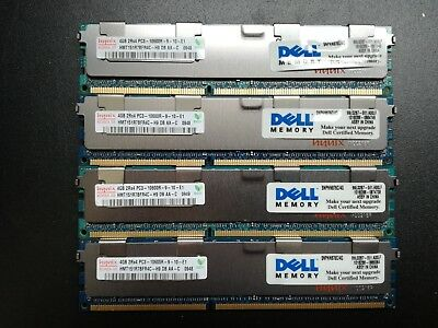 HYNIX 16GB (4x4GB) 2Rx4 PC3 - 10600R - SERVER RAM RIEGEL