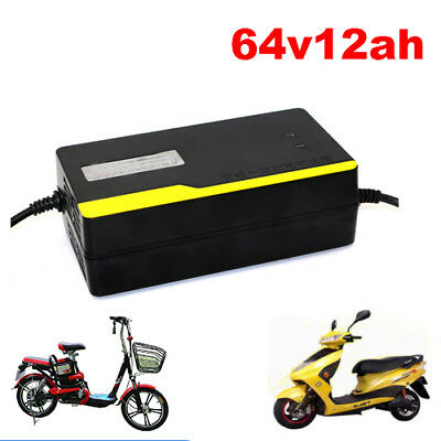 64V 12AH Electric Bikes Scooters E-bike Tricycle Lead Acid Battery Charger