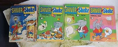 Shiver And Shake Vintage Comic Book Annuals