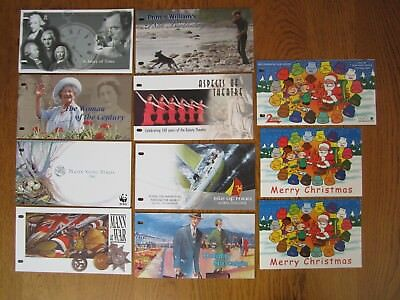 Isle of Man, Presentation packs for 2000, 9 mint sets