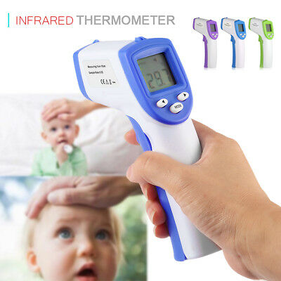 No-Contact Forehead Infrared Medical Digital Thermometer Baby Adult Body Care BT