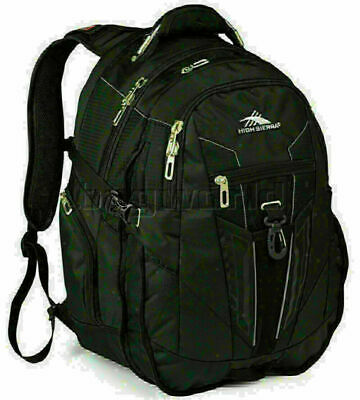 "High Sierra XBT 17"" Laptop Backpack Black 58000"