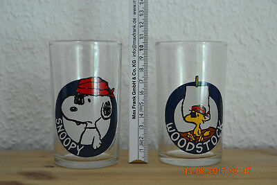 Glas Snoopy Pirat Rarität / Glass Snoopy as a pirate rarity